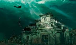 underwater city, chian